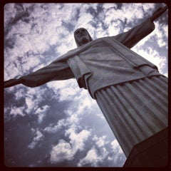 Photo taken at Cristo Redentor by Marcos M. on 2/19/2013