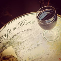 Photo taken at Café de Flore by Carol L. on 7/2/2013