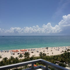 Photo taken at Loews Miami Beach Hotel by Gaby A. on 7/15/2013