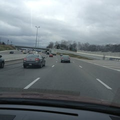 Photo taken at Briley Parkway - North by Alex F. on 3/11/2013