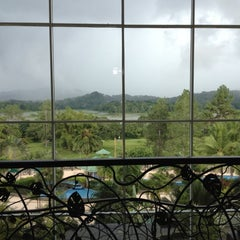 Photo taken at Gamboa Rainforest Resort by Haley D. on 10/20/2012