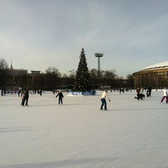 "Photo taken at Каток ""Южный полюс-Лужники"" by Julia on 1/27/2013"