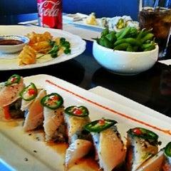 Photo taken at Sushi Ajito by Bambi C. on 12/15/2012
