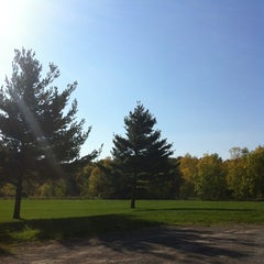 Photo taken at Woodend Conservation Area by Tracy K. on 10/4/2012