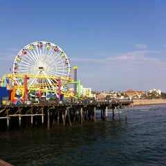 Photo taken at Santa Monica Pier by Tracy K. on 8/27/2013