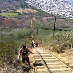 Photo taken at Koko Head Crater Trail by Bruce M. on 11/29/2011