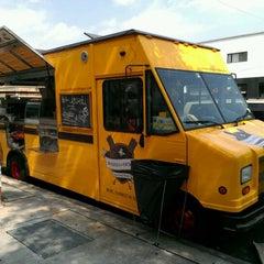 Photo taken at Wafels & Dinges - Vedette Cart by Scott H. on 6/10/2012