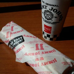 Photo taken at Jimmy John's by Jason R. on 5/8/2012