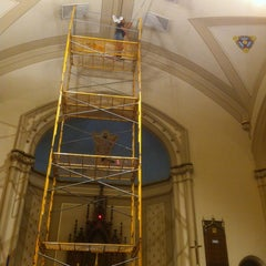Photo taken at Evangelical Lutheran Church by Roberto B. on 11/26/2012