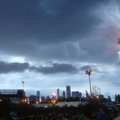 Photo taken at FirstMerit Bank Pavilion at Northerly Island by Russell E. on 7/22/2013