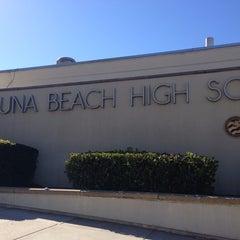 Photo taken at Laguna Beach High School by Colleen D. on 10/6/2013
