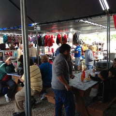 Photo taken at Red Barn Flea Market by Tim T. on 12/23/2012