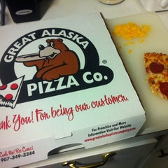 Photo taken at Great Alaska Pizza Co. by Alex C. on 2/27/2013