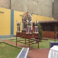Photo taken at Rectorado Universidad Inca Garcilaso de la Vega by Alonso H. on 10/3/2012