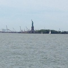 Photo taken at Battery Park by Debra W. on 6/5/2013