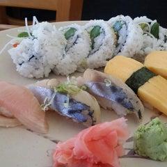 Photo taken at Minato Sushi Cafe by Mark B. on 7/17/2014