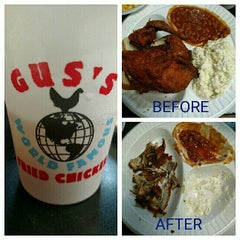 Photo taken at Gus' World Famous Fried Chicken by Shannon V. on 8/2/2015