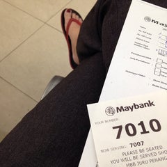 Photo taken at Maybank by Michelle K. on 10/24/2014