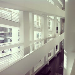 Photo taken at Museu d'Art Contemporani de Barcelona (MACBA) by Eddy F. on 1/30/2013