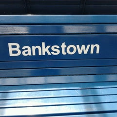 Photo taken at Bankstown Station by Sean S. on 3/10/2013