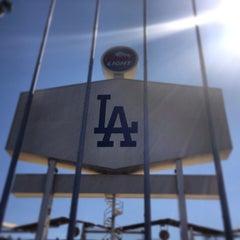Photo taken at Dodger Stadium by Ernesto R. on 7/13/2013