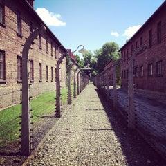 Photo taken at Muzeum Auschwitz-Birkenau by Arkadiusz J. on 7/20/2013