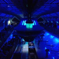 Photo taken at スペース・マウンテン (Space Mountain) by Haruhiko T. on 10/6/2012