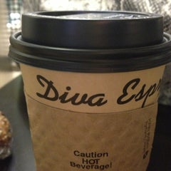 Photo taken at Diva Espresso by Kate S. on 11/26/2012