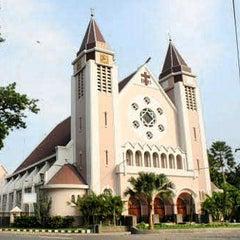 Photo taken at Gereja Katolik Katedral Santa Perawan Maria Dari Gunung Karmel by Akbar P. on 5/8/2015