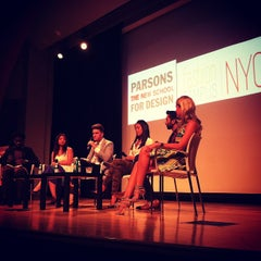 Photo taken at The New School Auditorium at 66W 12th by Morgan V. on 7/25/2013