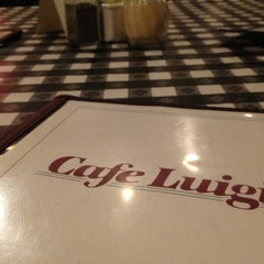 Photo taken at Cafe Luigi by HealthyLoserGal on 12/7/2013