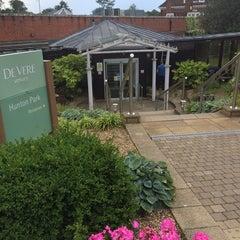 Photo taken at Devere Venues Hunton Park by Jeremy D. on 7/7/2014