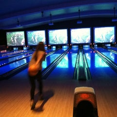 Photo taken at Lucky Strike Lanes by Becky M. on 1/13/2013