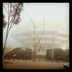 Photo taken at Geisel Library by Christian M. on 10/16/2012