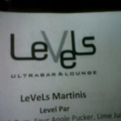 Photo taken at Levels - Ultrabar and Lounge by Carmelita F. on 11/22/2012
