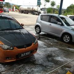 Photo taken at CarWash Caltex Subang by Alen R. on 2/10/2013
