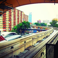 Photo taken at RapidKL Hang Tuah (ST3) LRT Station by Billy C. on 1/12/2013