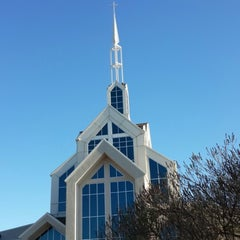Photo taken at North Cleveland Church of God by Mel V. on 10/20/2013