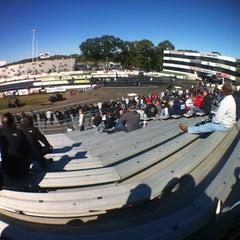 Photo taken at Old Bridge Township Raceway Park by Jamie :. on 10/13/2012