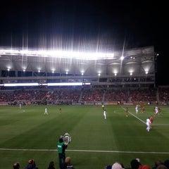 Photo taken at Rio Tinto Stadium by Alex G. on 11/8/2013