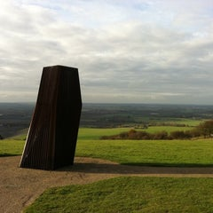 Photo taken at Dunstable Downs by Josef-Israel .. on 11/13/2012