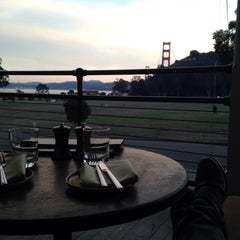 Photo taken at Cavallo Point by annie l. on 11/23/2015