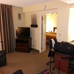 Photo taken at Homewood Suites by Hilton Washington DC by Scott R. on 2/21/2013