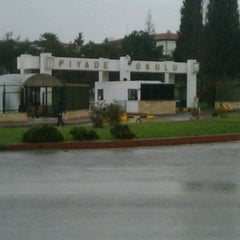 Photo taken at Piyade Okulu by Hasan A. on 12/1/2012