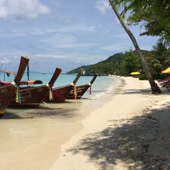 Photo taken at Phi Phi Natural Resort by Bulent S. on 5/21/2015