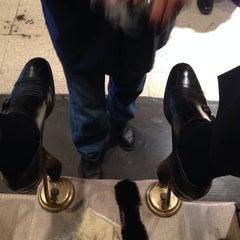 Photo taken at Jim's Shoe Repair by Matthew H. on 9/26/2013