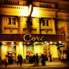 Photo taken at Cort Theatre by Sean L. on 9/20/2012