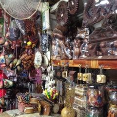 Photo taken at Pasar Kraftangan (Handicraft Market) by Azeman A. on 11/9/2012