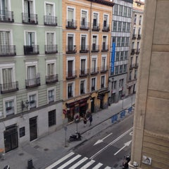 Photo taken at Hotel Opera Madrid by Sangwoong Y. on 1/15/2015