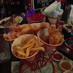 Photo taken at Bubba Gump Shrimp Co by John E. on 1/9/2013